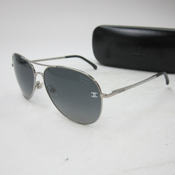5193423e793 Chanel 4189-T-Q Aviator Sunglasses Italy OLG532